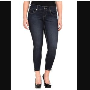 Torrid STILETTO JEGGING - SUPER STRETCH DARK WASH